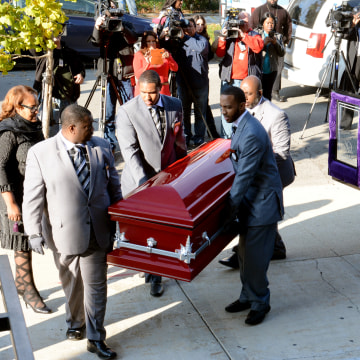 Image: Tyshawn Lee funeral