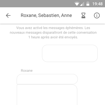 Image: Facebook Messenger disappearing messages