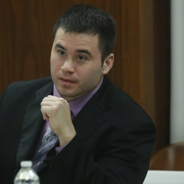 Image: Daniel Holtzclaw listens to testimony as prosecutors continue their case