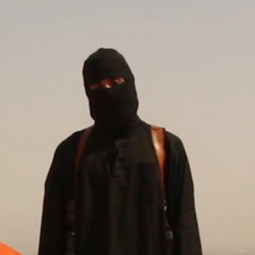 Image: Image: A graphic video obtained by NBC News purportedly shows James Wright Foley reciting threats against America before he is executed by an ISIS militant.