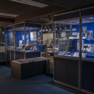 Image: The Metropolitan Police's Crime Museum at New Scotland Yard