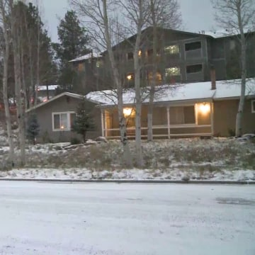Image: Snow in Flagstaff, Arizona
