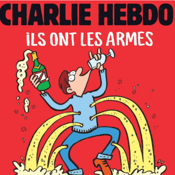 Image: New Charlie Hedbo cover