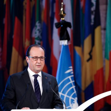 Image: French President Francois Hollande