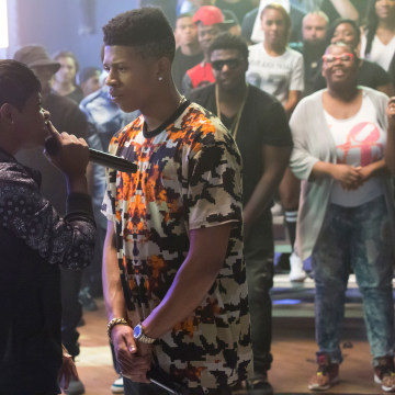 """Image: Guest star Bre-Z and Bryshere Gray in the """"My Bad Parts"""" episode of Fox's television show Empire"""