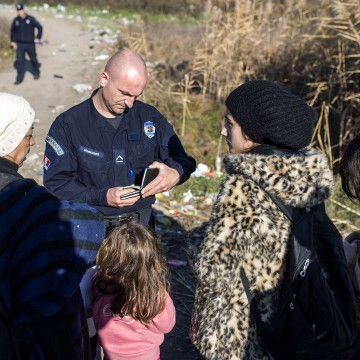 Image: MACEDONIA-SERBIA-EUROPE-MIGRANTS
