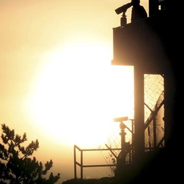 Image: Guarding border island Yeonpyeong
