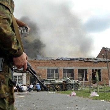 Image: Beslan school terror