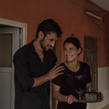 Image: Reem and Barzan