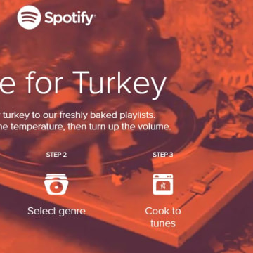 Spotify Turkey Timer