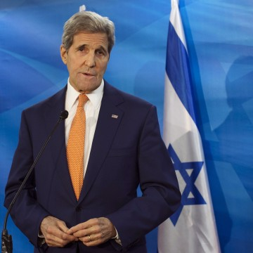 Image: John Kerry and Benjamin Netanyahu
