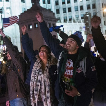 Image: Protests Erupt In Chicago After Video Of Police Shooting Of Teen Is Released