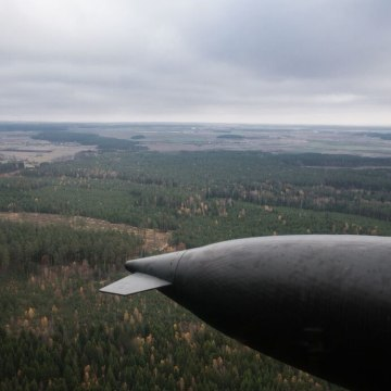 Image: The Suwalki Gap region from above