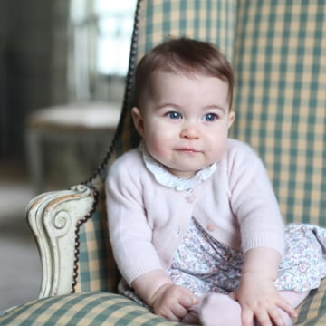 Image: Princess Charlotte of Cambridge.