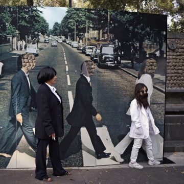 Image: MEXICO-THE BEATLES-GUINNESS-RECORD