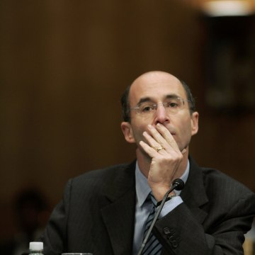 Image: Robert Malley testifies before the Senate Foreign Relations Committee in January 2007