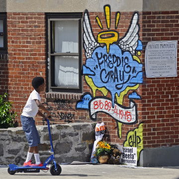 Baltimore protests in wake of Freddie Gray death