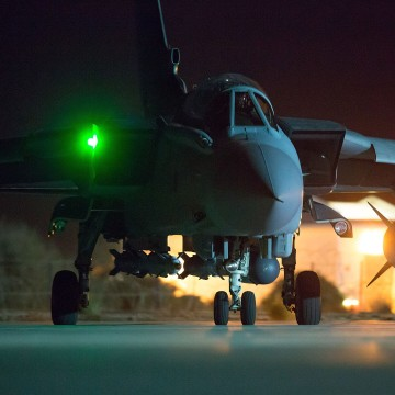 Image: British Fighter Jets At RAF Akrotiri in Cyprus