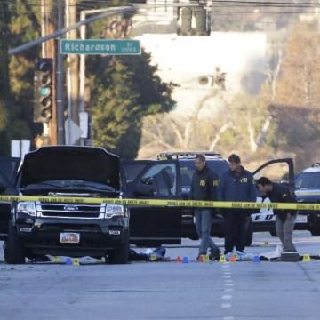 Image: San Bernardino shootout scene
