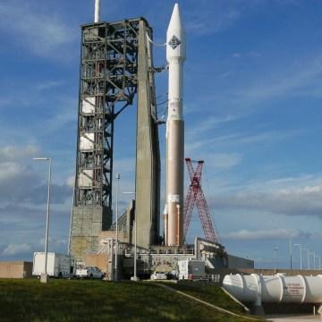 Image: Atlas V rocket at Cape Canaveral