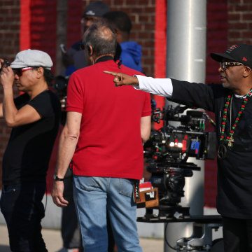 A look inside 'Chi-raq' set