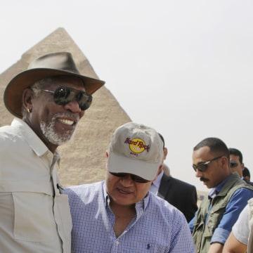 Hisham Zaazou, Morgan Freeman
