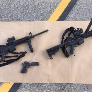 IMAGE: Weapons in San Bernardino shootings