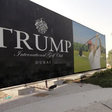 Image: UAE-US-GOLF-TRUMP-REAL-ESTATE