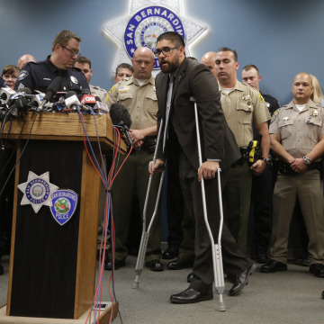Image: San Bernardino, California, police Officer Nicholas Koahou