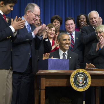 Image: Barack Obama, Lamar Alexander, Patty Murray
