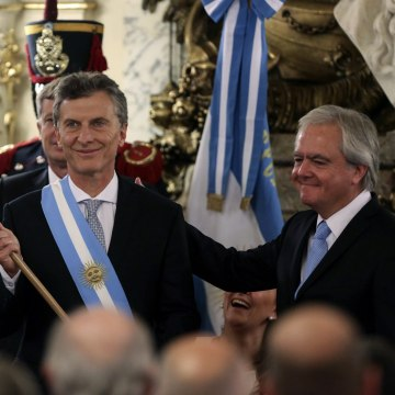 Image: Argentinian new President inauguration ceremony