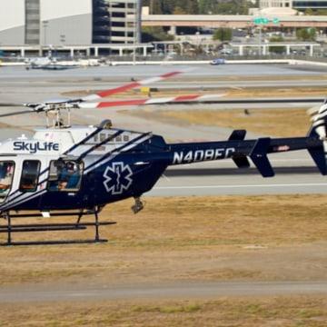 Image: Skylife helicopter that crashed, killing four