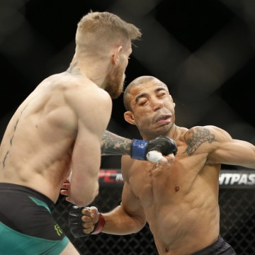 Image: Conor McGregor, Jose Aldo