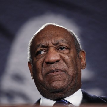 Image: File photo of Actor Cosby speaking at the National Action Network's 20th annual Keepers of the Dream Awards gala in New York