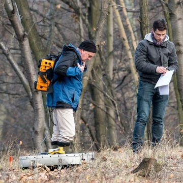 Image: Nazi Gold Train research in Walbrzych