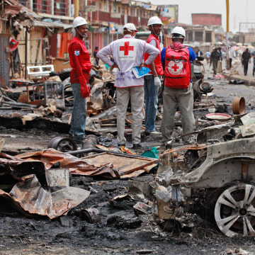 Image: Car bombing in Jos, Nigeria
