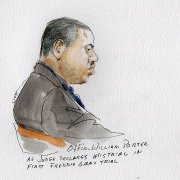 Image: William Porter trial - Freddie Gray