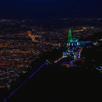 COLOMBIA-CHRISTMAS-LIGHTS