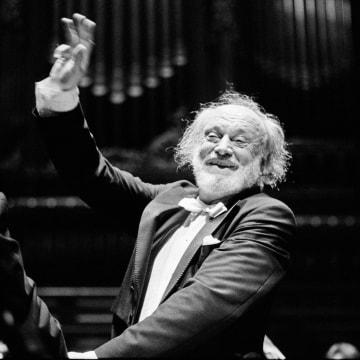 Image: (FILE) Conductor Kurt Masur Dies At 88 Kurt Masur