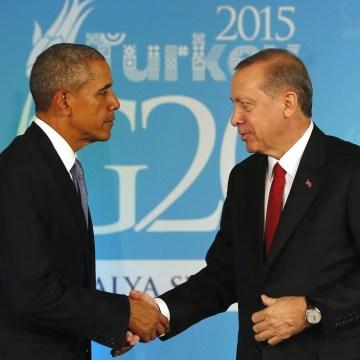 Image: Barack Obama and Recep Tayyip Erdogan