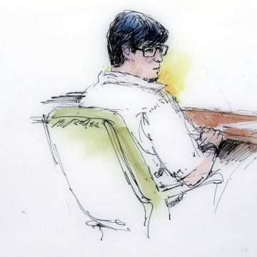 Image: Enrique Marquez Jr. in court