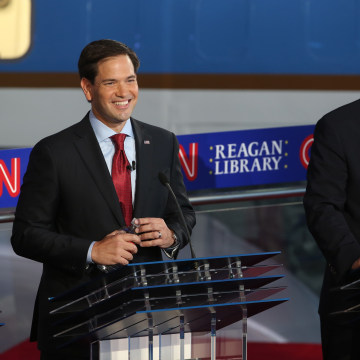 Image: Republican Candidates Take Part In Debates At Reagan Library In Simi Valley