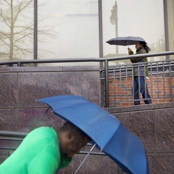 Image: Rain in Birmingham, Alabama