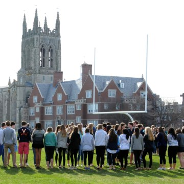 Image: St. George's School in Middletown, Rhode Island