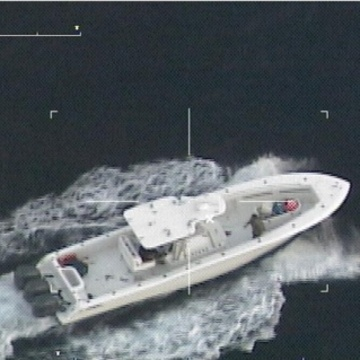 Image: The stolen vessel was capable of speeds of up to 75 mph.