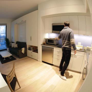 Image: NYC micro apartments