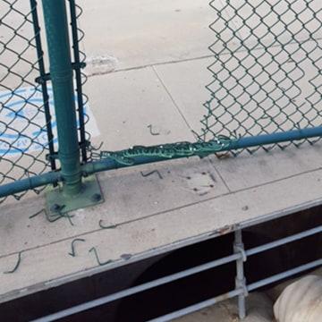 Image: Van Nuys, California airport graffiti