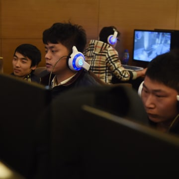 Image: China's new law gives authorities greater powers of surveillance over communications, including private internet use.