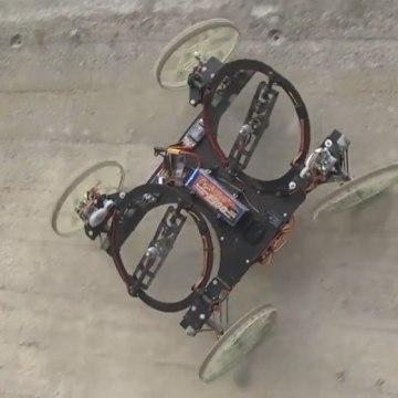 Watch Disney's Air-Propelled 'VertiGo' Robot Climb Walls With Ease