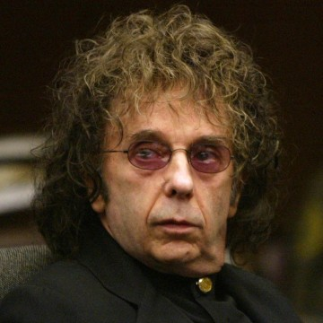 Image: Phil Spector in court